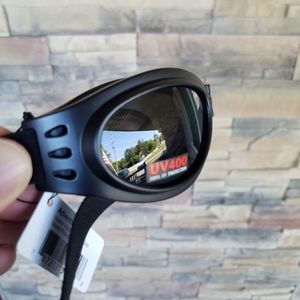 Motorcycle Goggles Padded Public Safety Cycling